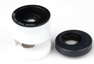 3-in-1 Photo Lens Fish Eye Macro Wide Angle Camera Lens for iPhone5