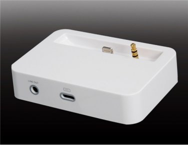 High Quality Docking Station for iPhone 5 Charging Cradle with Audio