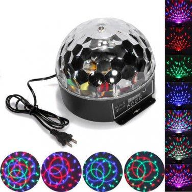 Disco DJ Xmas KTV Club Stage Lighting Digital LED Crystal Magic Ball Light Party