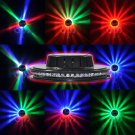 Voice-activated 48LEDs RGB Stage Light Lamp Disco Bar DJ Party Rotating Lighting