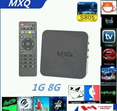 Unlocked MXQ Android TV Box Quad Core FULLY LOADED KODI XBMC S805 MBOX 4.4 FREE TV MOVIES
