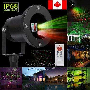 R&G Waterproof Outdoor Landscape Garden Projector Moving Laser Stage Light