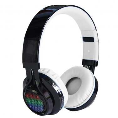 Bluetooth Headset AB005 Wireless Headphones 4.0 with LED FM Microphone Foldable