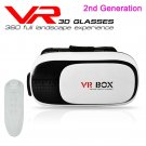 VR BOX Virtual Reality 3D Glasses with Bluetooth Remote Control