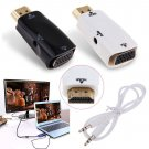 HDMI Male to VGA Female Adapter Converter with Audio