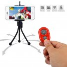 Extendable Handheld Selfie Self Phone Stick Monopod Bluetooth Remote Shutter