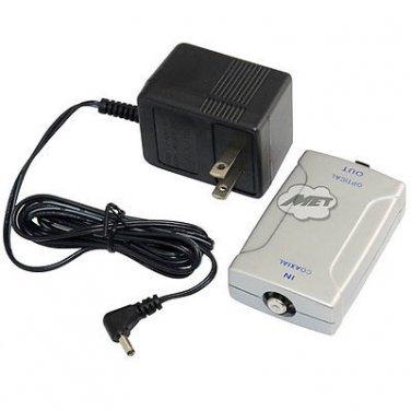Digital Fiber RCA Coaxial S/PDIF to Optical Toslink Adapter Converter