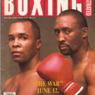 Boxing Illustrated Magazine July 1998,The War June 12 1989