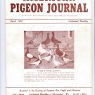 American Pigeon Journal April 1953,$10.00 free shipping to USA,bird,fowl,food,race