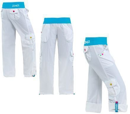 Highlighter Cargo Pants - White - Small