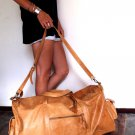 Journey big leather bag hand made in Bali by ELF.