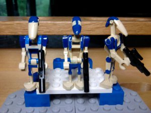 Lego Star Wars Custom B1 Battle Droids R2D2 Citadel Pri