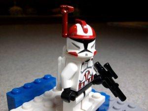 Lego Star Wars Custom Commander Ponds with Jetpack