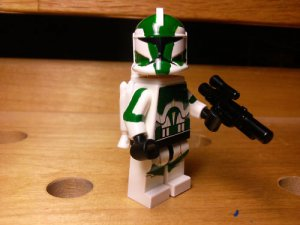 Lego Star Wars Custom Commander Gree with Jetpack