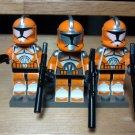 Lego Star Wars Silver Bomb Squad