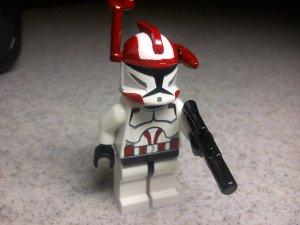 Lego Star Wars Custom Commander Ponds Clone Trooper