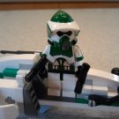 Lego Star Wars Custom Scout ARF Commander Gree