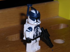 Lego Star Wars Custom Commander Wolffe with Jetpack