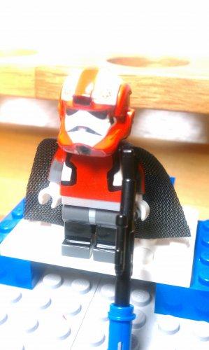 Lego Star Wars Delta Squad Airborne Republic Commando Boss