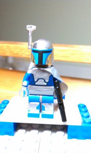 Lego Star Wars Custom Jango Fett Mandolorian Mercenary