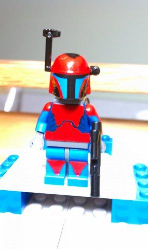 Lego Star Wars Custom  Sherruk Mandolorian Mercenary