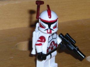 Lego Star Wars Custom Commander Fox with Jetpack