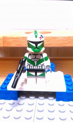 Lego Star Wars Custom Commander Draa 41st Elite Corps C