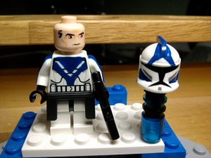 Lego Star Wars Custom Arc Commander Fives