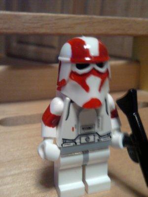 Lego Star Wars Custom Commander Keeli Clone Wars Snowtrooper