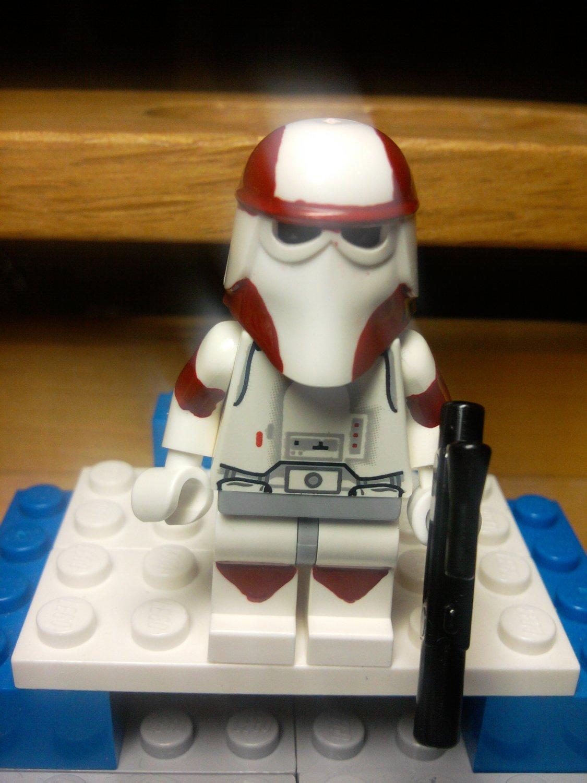 Lego Star Wars Commander Ponds Snow Trooper