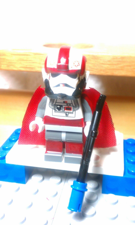 Lego Star Wars Clone Wars Senior Arc Commander Alpha 17
