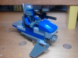 Lego Star Wars Pre-Vizsla Mandolorian Death Watch Commanders