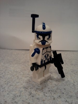 Lego Star Wars Custom Commander Denal with Jetpack