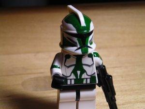 Lego Star Wars Custom Commander Gree