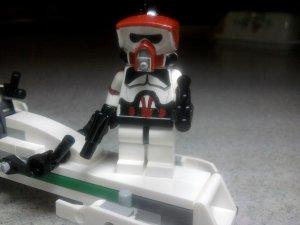 Lego Star Wars Custom Scout ARF Commander Dec