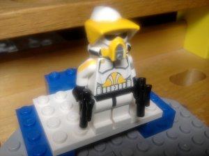 Lego Star Wars Custom Scout ARF Commander Cody