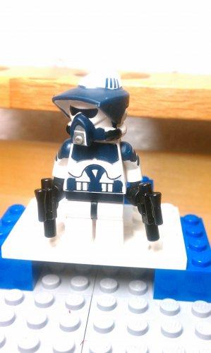 Lego Star Wars Custom Scout ARF Commander Wolffe