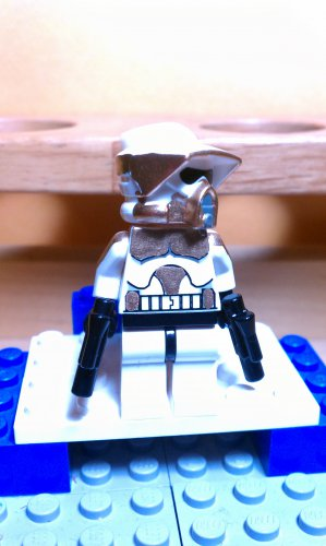 Lego Star Wars Custom Scout ARF Gold Commander