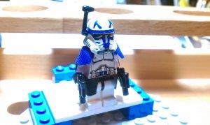 Lego Star Wars Custom Commander Rex Phase 2 Armor Clone Wars Trooper