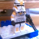 Lego Star Wars Custom Commander Waxer Phase 2 Armor Clone Wars Trooper