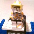 Lego Star Wars Custom Clone Marshall Commander Cody  Phase 2 Armor Clone Wars Trooper