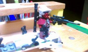 Lego Star Wars Custom Scout ARF Commander Raff Heavy Trooper