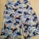 J.Khaki swim trunks, Whale design, Cargo Pocket Size L, New With Tags