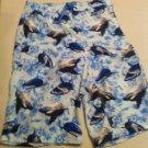 J.Khaki swim trunks, Whale design, Cargo Pocket Size XL, New With Tags