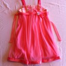 Bonnie Jean Size 7 Coral Wedding Summer Party Dress