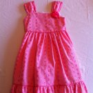 Bonnie Jean Size 6x Coral Embroidered Dress