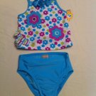 Arizona Size 24mos.  2 Pc. Blue and Purple Floral UPF 50 Protection