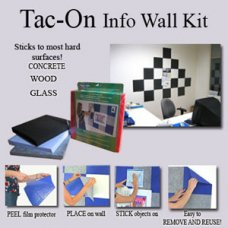 Charcoal Tac-On Wall