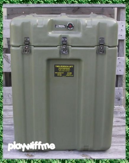Hardigg Military Case - 6.2 Cubic Feet - New Old Stock