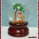 Santa On The Beach - Mini Water Globe